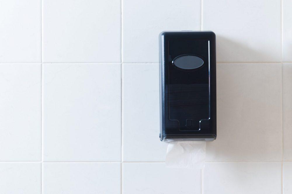 Hygienic Bath Tissue Dispenser